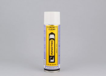 pulitore spray per componenti elettrici, manutenzione circuiti elettronici