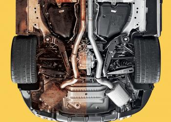 protettivo sottoscocca, rivestimento anti corrosione