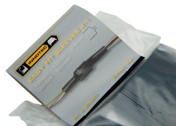 manicotti in plastica, isolamento collegamenti elettrici di cavi e spine