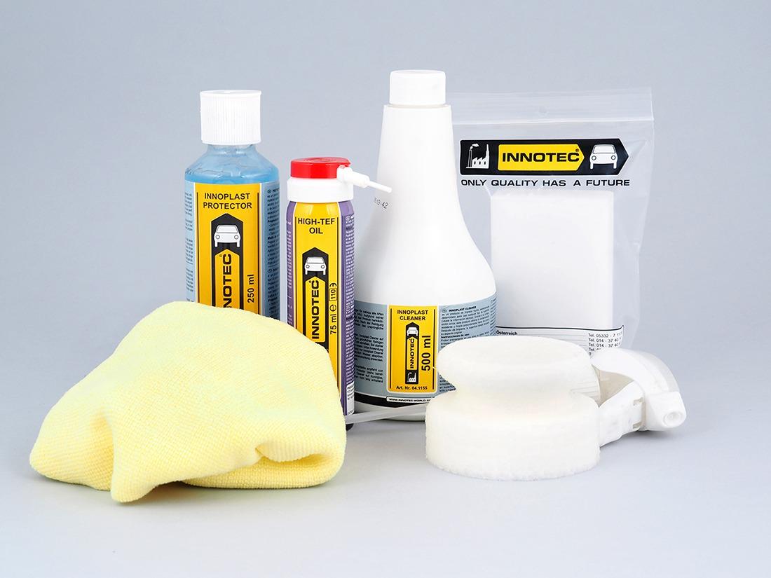 kit per la pulizia dei serramenti
