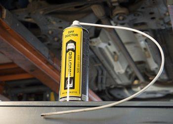 Pulitore, rimuove depositi di carbonio e di fuliggine nel filtro anti particolato